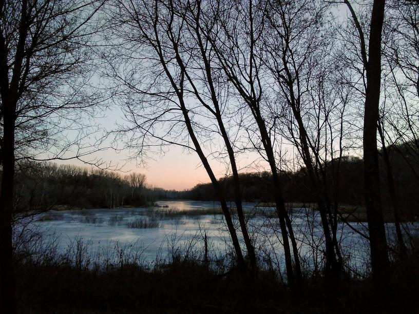 A wetland that became a lake