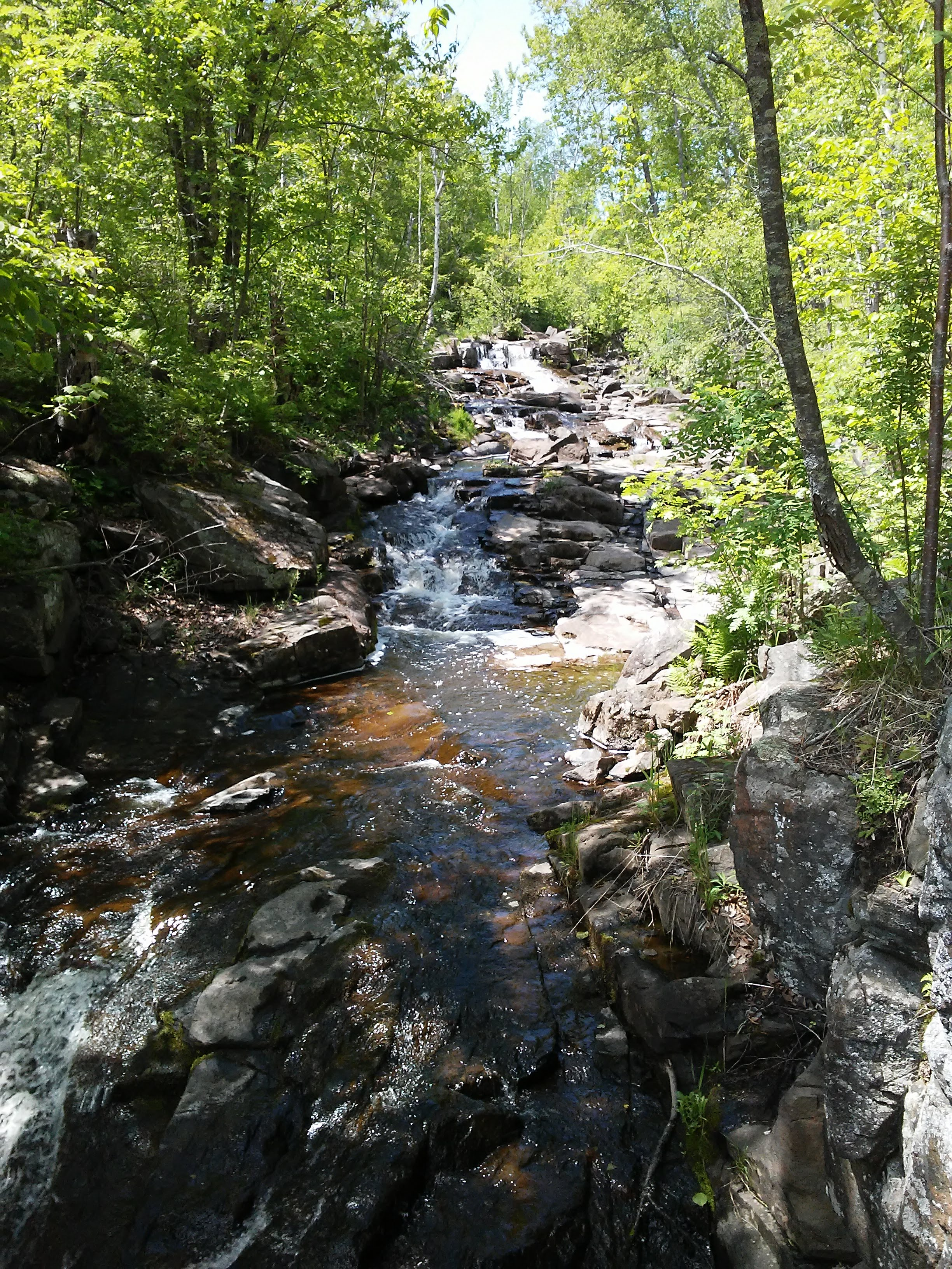 Keene Creek in Duluth, Minnesota
