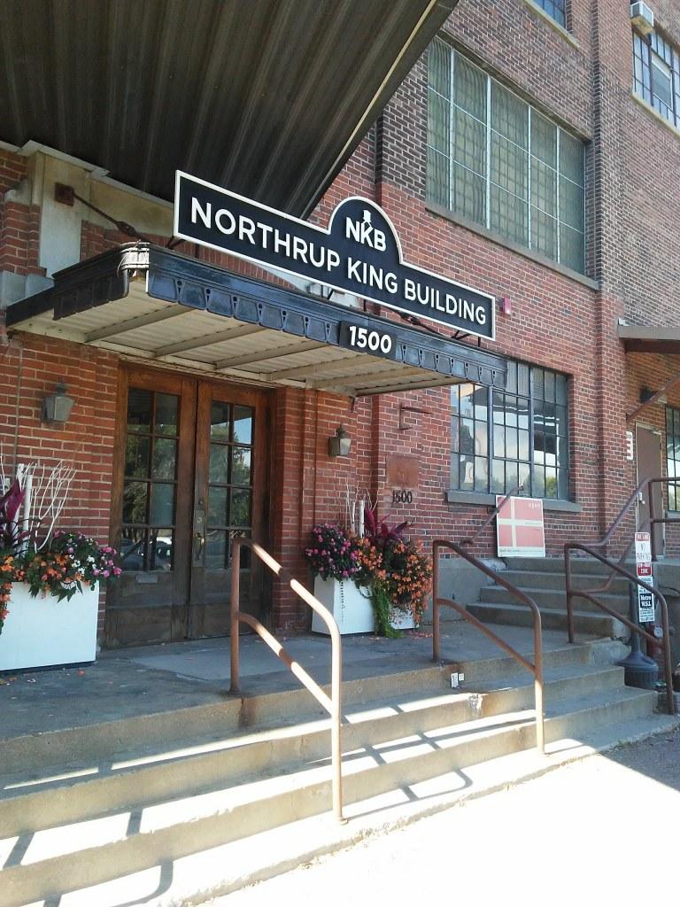 front door of Northrup King Building in Minneapolis