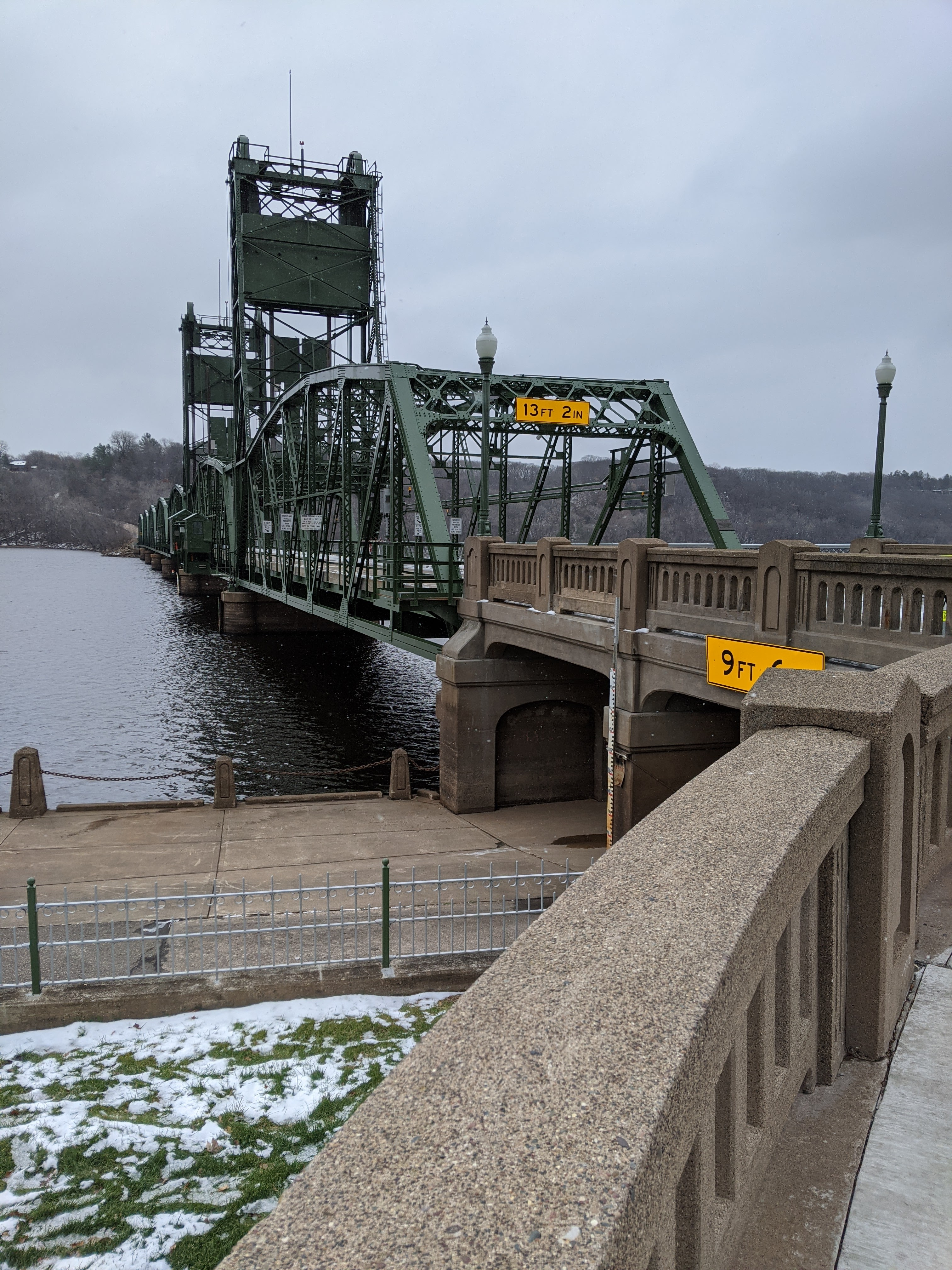 The Lift Bridge was the main crossing in this area from 1931 -2017.